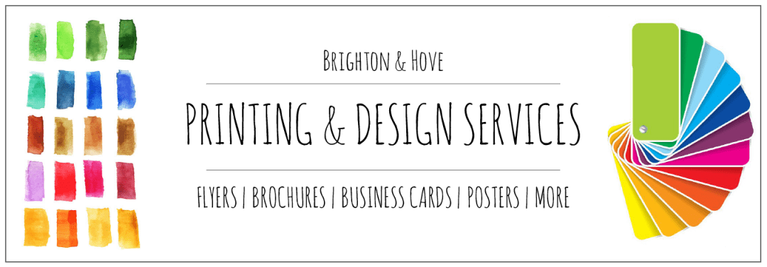 Brighton & Hove Printing & Design | We Print Business Cards, Flyers ...