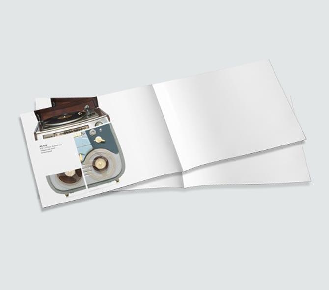 A5 Landscape 4 Page Folded Leaflets