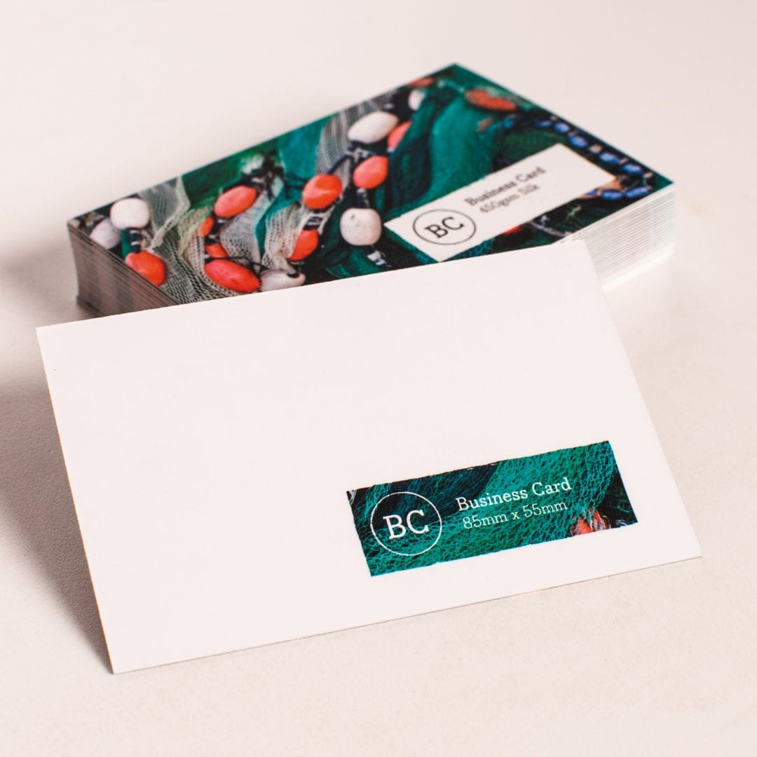 Printed Uncoated Business Cards - Brighton & Hove Printing & Design